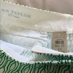 Ann Taylor Shorts - NWT Ann Taylor city shorts